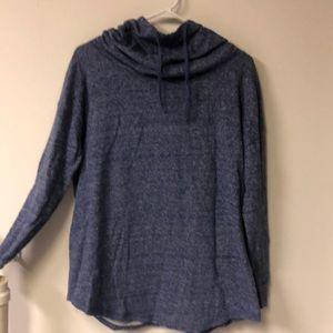 Mossimo long sleeve cowl neck sweatshirt